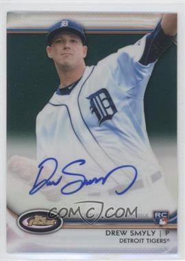 2012 Topps Finest Autographed Rookies Green Refractor #AR-DS - Drew Smyly /199