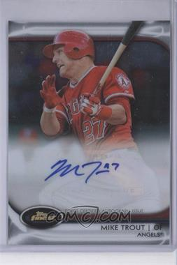 2012 Topps Finest Autographed Rookies Redemption Exchange #AR-MT - Mike Trout /100