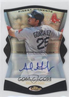 2012 Topps Finest Finest Moments Autographs [Autographed] #FM-AG - Adrian Gonzalez /25