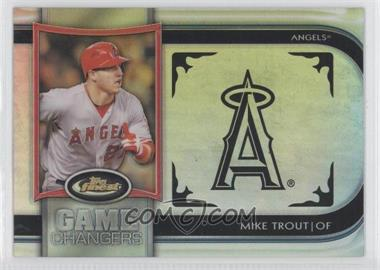 2012 Topps Finest Game Changers #GC-MT - Mike Trout