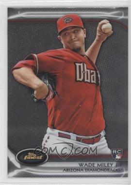 2012 Topps Finest #76 - Wade Miley