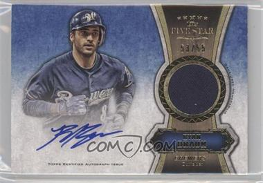 2012 Topps Five Star - Autographed Relics - Gold #FSAR-RB - Ryan Braun /55