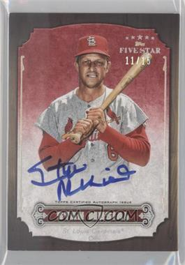 2012 Topps Five Star - Retired Player Autographs - Rainbow #FSA-SM - Stan Musial /25