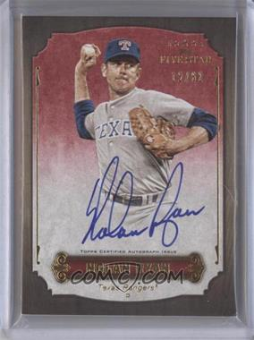 2012 Topps Five Star - Retired Player Autographs #FSA-NR - Nolan Ryan /62
