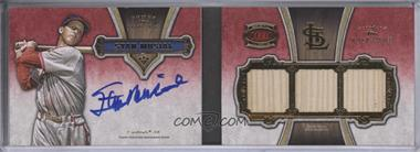 2012 Topps Five Star 3-Piece Signature Book Gold #FSB3-3 - Stan Musial /10