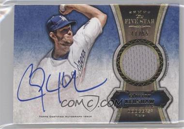 2012 Topps Five Star Autographed Relics Gold #FSAR-CK - Clayton Kershaw /55