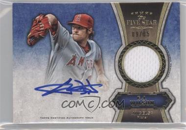 2012 Topps Five Star Autographed Relics Gold #FSAR-CW - C.J. Wilson /55