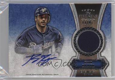 2012 Topps Five Star Autographed Relics Gold #FSAR-RB - Ryan Braun /55