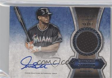 2012 Topps Five Star Autographed Relics #FSAR-GS - Giancarlo Stanton /97