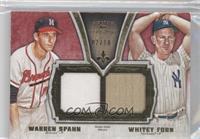 Warren Spahn, Whitey Ford /10