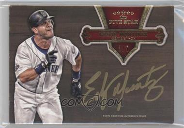 2012 Topps Five Star Gold Signatures Red #FSSI-EM - Edgar Martinez /5
