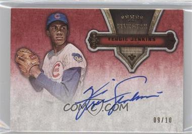 2012 Topps Five Star Quotable Autographs Retired Players #FSQA-FJ - Fergie Jenkins /10