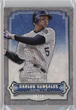 2012 Topps Five Star Rainbow #31 - Carlos Gonzalez /10