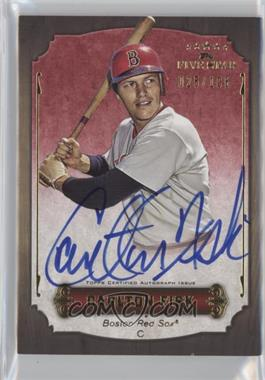 2012 Topps Five Star Retired Player Autographs #FSA-CF - Carlton Fisk /106
