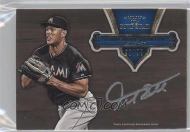 2012 Topps Five Star Silver Signatures #FSSI-GS - Giancarlo Stanton /99