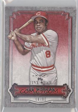 2012 Topps Five Star #55 - Joe Morgan /80