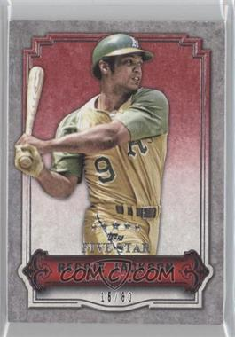 2012 Topps Five Star #66 - Reggie Jackson /80