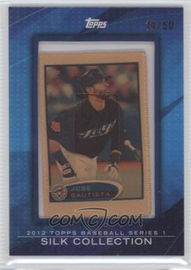 2012 Topps Framed Silk Collection #JOBA - Jose Bautista /50