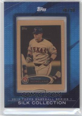 2012 Topps Framed Silk Collection #MIMO - Mitch Moreland /50