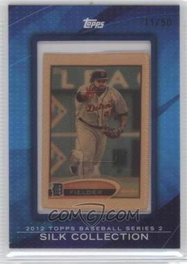 2012 Topps Framed Silk Collection #PRFI - Prince Fielder /50