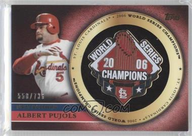 2012 Topps Gold Commemorative Pin Card #GCP-AP - Albert Pujols /736