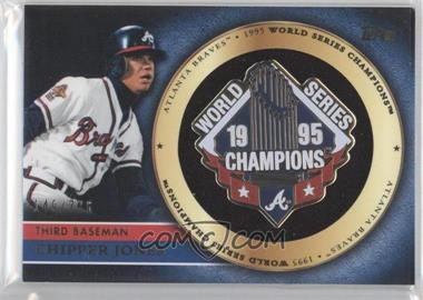2012 Topps Gold Commemorative Pin Card #GCP-CJ - Chipper Jones /736
