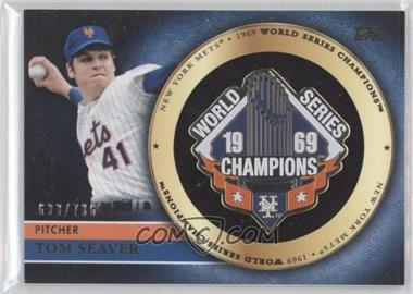 2012 Topps Gold Commemorative Pin Card #GCP-TS - Tom Seaver /736