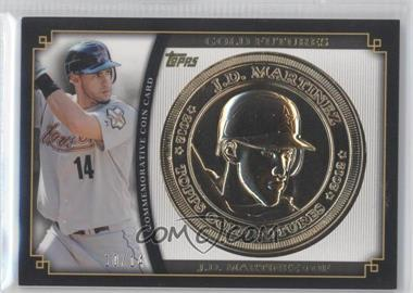 2012 Topps Gold Futures Coin Cards #GFC-JM - J.D. Martinez /14