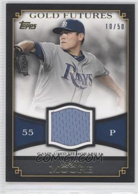 2012 Topps Gold Futures Relics #GFR-MM - Matt Moore /50