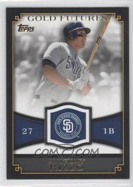 2012 Topps Gold Futures #GF-13 - Anthony Rizzo