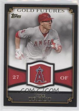 2012 Topps Gold Futures #GF-16 - Mike Trout