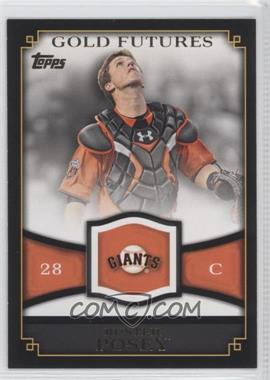 2012 Topps Gold Futures #GF-28 - Buster Posey
