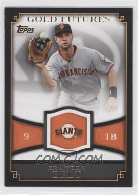 2012 Topps Gold Futures #GF-3 - Brandon Belt
