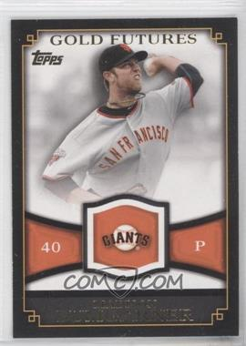 2012 Topps Gold Futures #GF-33 - Madison Bumgarner