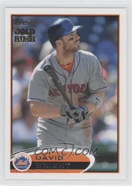 2012 Topps Gold Rush Stamp #240 - David Wright