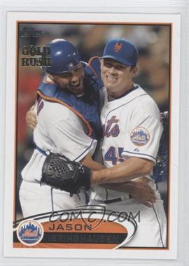 2012 Topps Gold Rush Stamp #323 - Jason Isringhausen