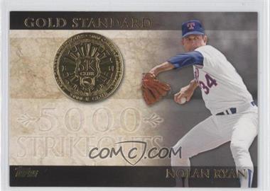 2012 Topps Gold Standard #GS-1 - Nolan Ryan