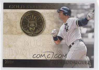 2012 Topps Gold Standard #GS-13 - Alex Rodriguez