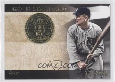 2012 Topps Gold Standard #GS-15 - Ty Cobb