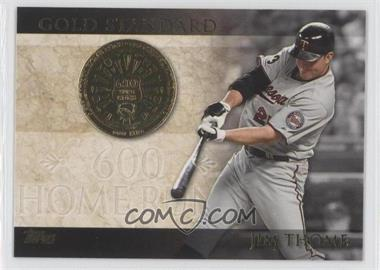 2012 Topps Gold Standard #GS-17 - Jim Thome