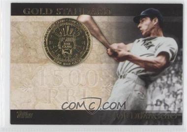 2012 Topps Gold Standard #GS-18 - Joe DiMaggio