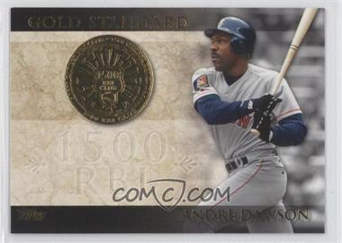 2012 Topps Gold Standard #GS-19 - Andre Dawson