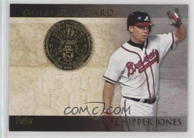 2012 Topps Gold Standard #GS-21 - Chipper Jones