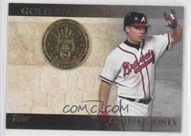 2012 Topps Gold Standard #GS-21 - Chipper Jones