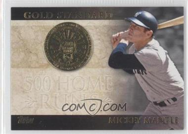 2012 Topps Gold Standard #GS-24 - Mickey Mantle