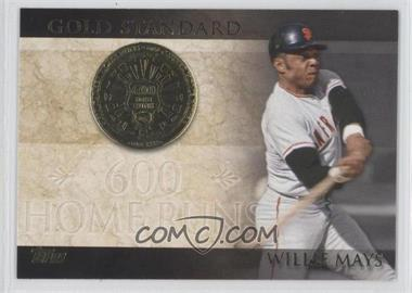 2012 Topps Gold Standard #GS-25 - Willie Mays