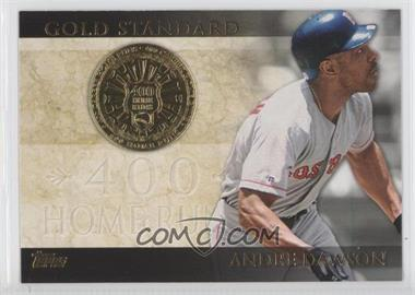 2012 Topps Gold Standard #GS-26 - Andre Dawson
