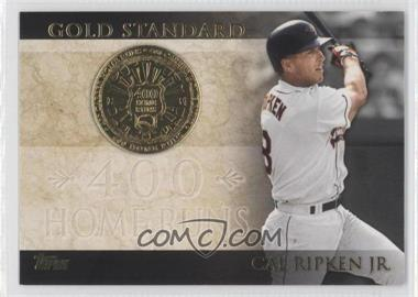 2012 Topps Gold Standard #GS-29 - Cal Ripken Jr.