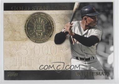 2012 Topps Gold Standard #GS-30 - Willie Mays