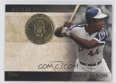 2012 Topps Gold Standard #GS-31 - Hank Aaron